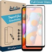 Samsung Galaxy A11 screenprotector - Full Cover - Tempered Glass - Gehard glas - Just in Case