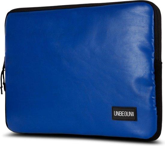 MacBook Pro 16 inch case van gerecycled materiaal (duurzaam) - Blauwe laptop sleeve voor nieuwe MacBook Pro 16 inch (2019/2020)