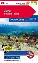 Jura / Delemont-Bienne 3 Cycle Map