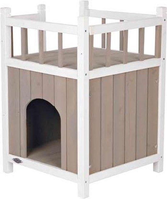 Trixie Cat's Home Kattenhuis - Grijs