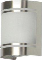 RANEX ALICANTE WANDLAMP ALICANTE RVS GLAS 5000.298