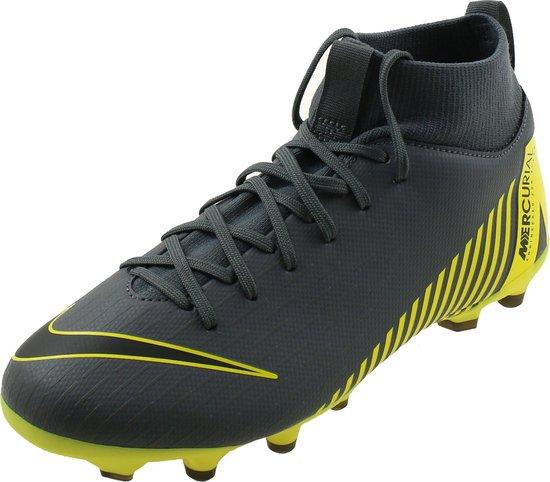 Nike JR Superfly 8 Academy GS FGMG Voetbalschoenen Kinderen GrijsGeel AH7337