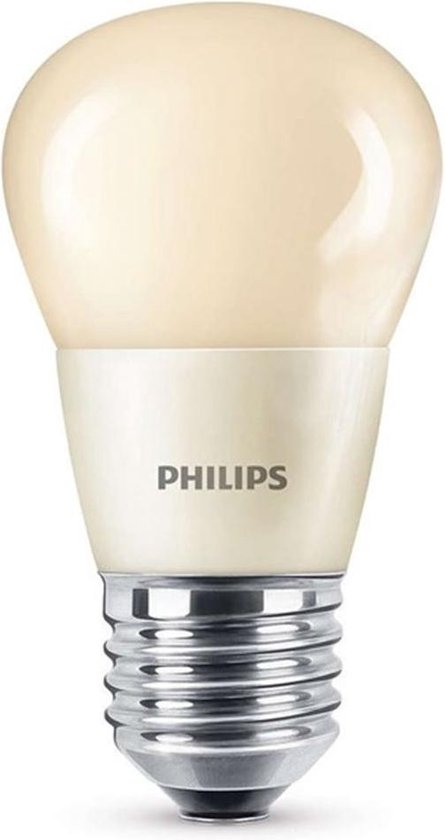 Philips LED Kogel 4W (15W) E27 flame dimbaar