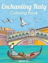 Enchanting Italy Coloring Book