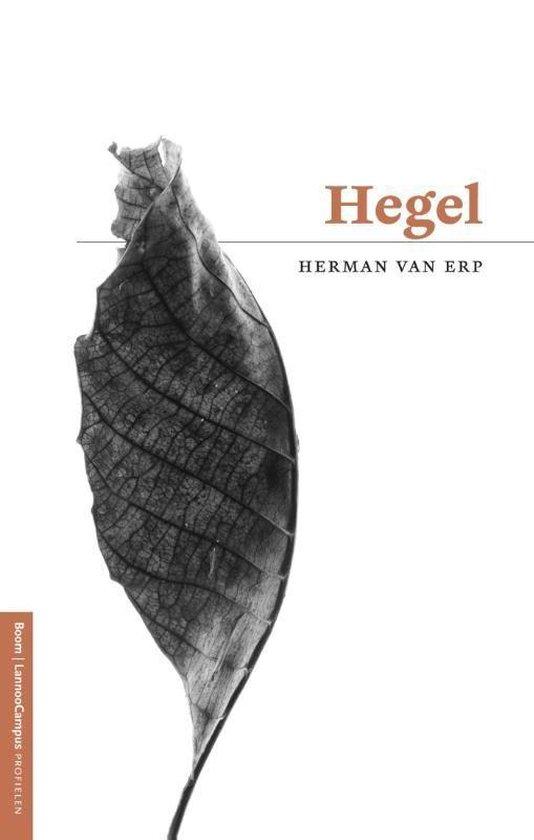 Boek cover Hegel van Herman van Erp (Onbekend)