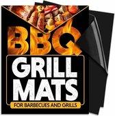 BBQ/Oven Grill mat- Teflon grill mat- 33x40cm- 3 stuks- Schone BBQ- Grillen- Oven- Herbruikbare Grillmatten