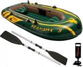 Intex Seahawk Opblaasboot - 3 Personen - Groen