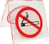 Verboden te roken tafelstandaard