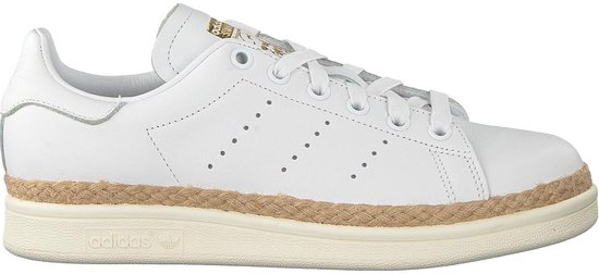 adidas Originals Stan Smith New Bold W CQ2439 Dames Sneaker Sportschoenen  Schoenen Wit - Maat EU 36 2/3 UK 4