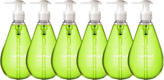 Method Duurzame Handzeep - Groene Thee & Aloë Vera - 6 x 354ml - voordeelverpakking