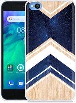 Xiaomi Redmi Go Hoesje Space wood