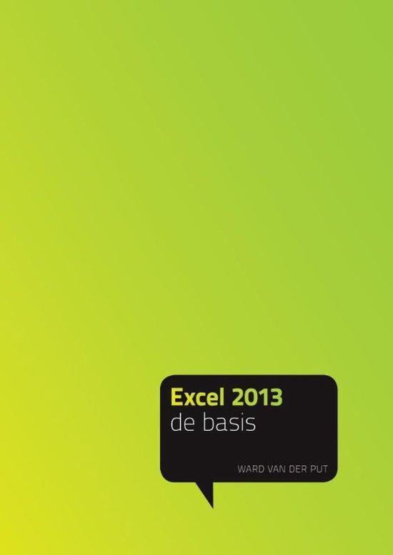 Excel 2013 - Ward van der Put  