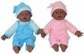 "New York City Girls Doll - 12""  Baby Twin Dolls / Tweeling Baby Pop - 30cm"