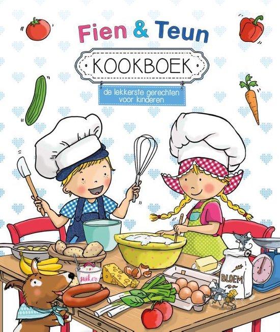 Boek cover Fien en Teun  -   Fien & Teun Kookboek van Witte Leeuw (Hardcover)
