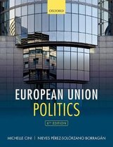 Boek cover European Union Politics van Michelle Cini