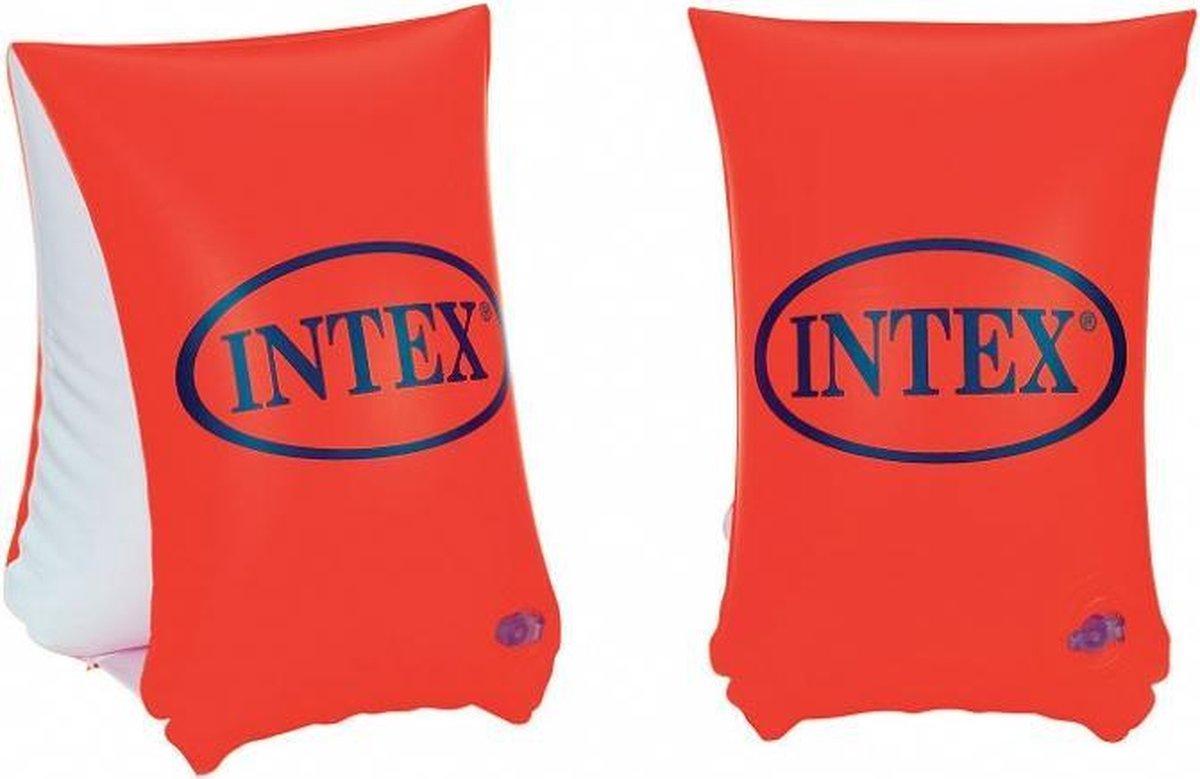 zwemvleugels Deluxe oranje 6-12 jaar