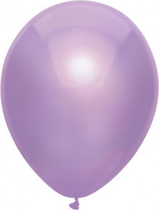 Ballonnen Metallic Lila 10 stuks