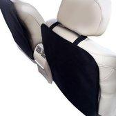 Buxibo -  Auto Stoelbeschermer - Auto Stoelhoes - Beschermer Achterkant Autostoel - Voor voorstoel - 2 Stuks - Zwart