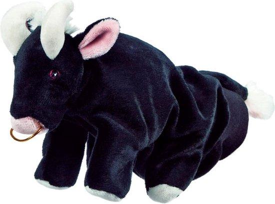 Beleduc Stier Speelhandschoen - Handpop - Zwart