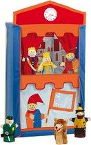 poppenkast -roba punch en judy theatre, verschillende ontwerpen beschikbaar - (WK 02123) - Veelkleurig