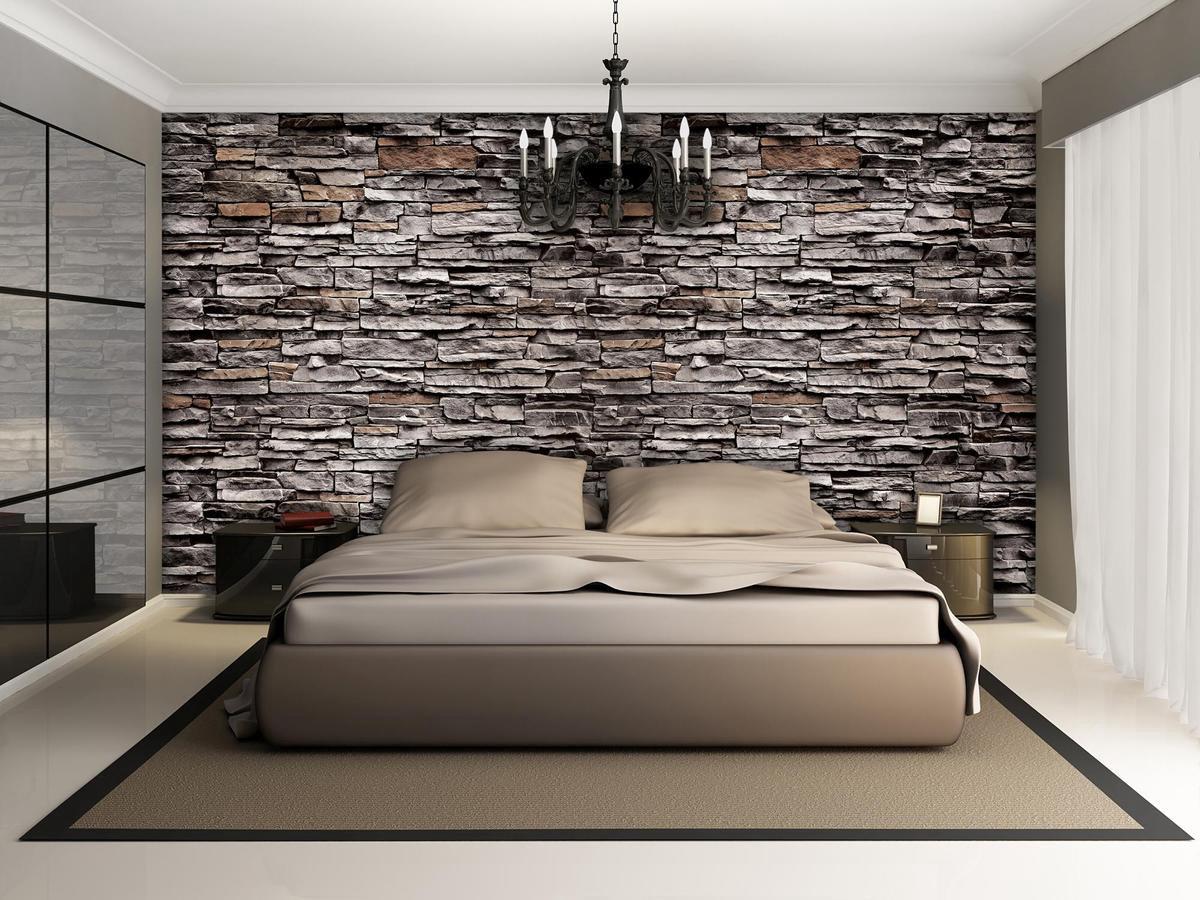 Brown Photomural, wallcovering - GroepArt