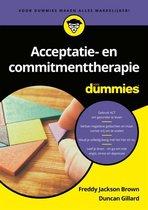 Acceptatie- en commitmenttherapie voor Dummies