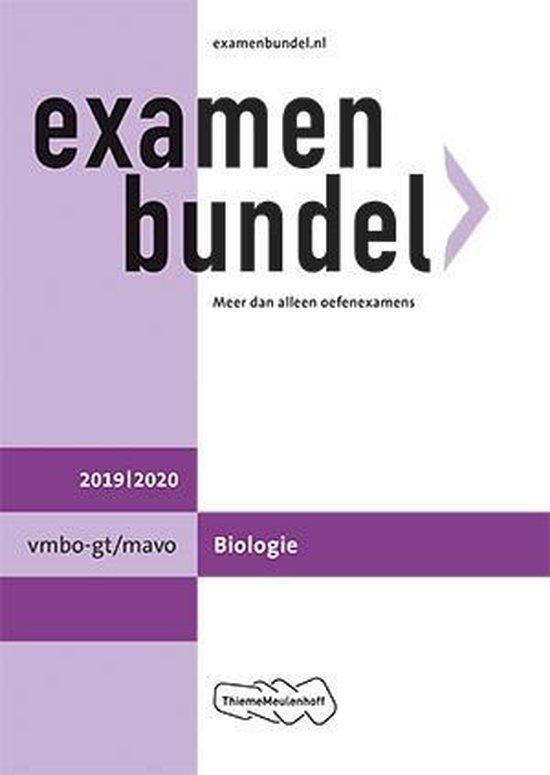 Boek cover Examenbundel vmbo-gt/mavo Biologie 2019/2020 van E.J. van der Schoot (Paperback)