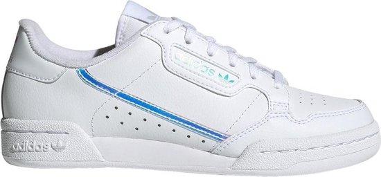 adidas Jongens Sneakers Continental 80 J - Wit - Maat 38