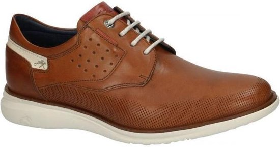 Fluchos -Heren -  cognac/caramel - casual schoenen - maat 41