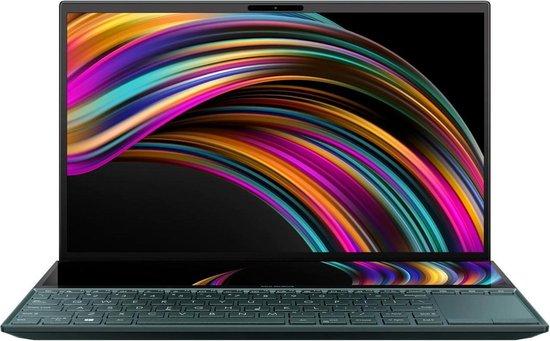 ASUS ZenBook UX481FL-HJ105T Notebook Blauw 35,6 cm (14'') 1920 x 1080 Pixels Touchscreen Intel® 10de generatie Core™ i7 16 GB LPDDR3-SDRAM 512 GB SSD NVIDIA® GeForce® MX250 Wi-Fi 6 (802.11ax) Windows 10 Home