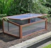 Houten kweekbak 100 x 65 x 40 cm