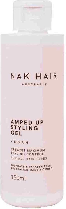 Nak Styling Amped Up Styling Gel Hold 8 150ml