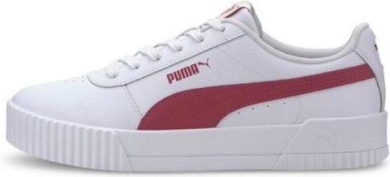 Puma Carina L wit roze sneakers dames (370325-13)
