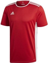 adidas Entrada 18 Trikot Heren Sportshirt - Power Red/Wit - Maat M
