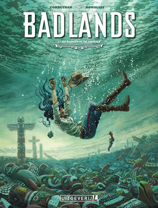 Badlands 2 - De danser in de grizzly - Corbeyran |