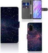 Bookcase Bookcover Samsung Galaxy S20 Hoesje Stars