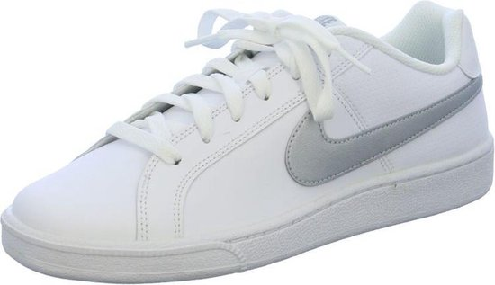 Nike - Court Royale - Sneaker laag sportief - Dames - Maat 37,5 - Wit - 100  -White/Metallic/Silver