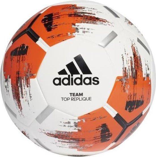 ADIDAS Team Top Ball Replica Trainingsbal Wit Oranje