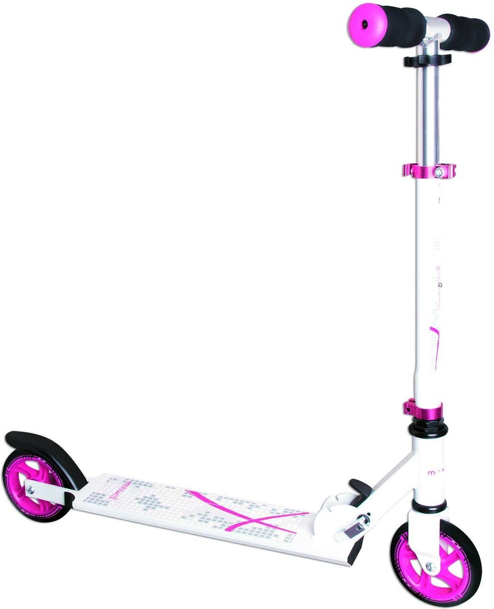 Muuwmi Stuntstep - Step - Roze;Wit