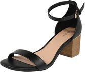 Call It Spring sandalen met riem makenzie Zwart-8 (38,5)