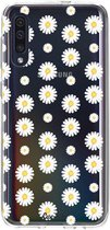 Samsung Galaxy A50 (2019) hoesje Daisies Casetastic Smartphone Hoesje softcover case