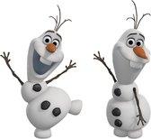 Disney Frozen Olaf the Snow Man - Muurornament - 14x27 cm - Multi