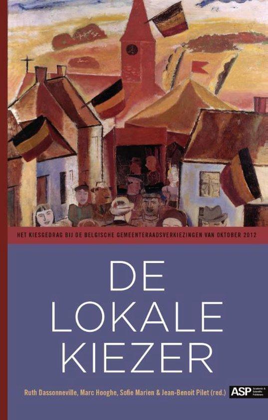 Cover van het boek 'de lokale kiezer' van Marc Hooghe