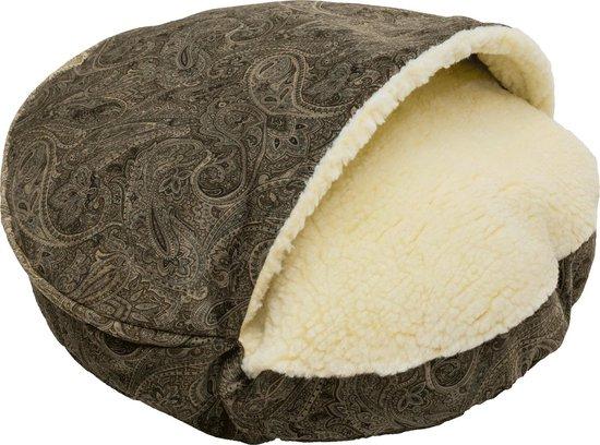 Snoozer Cozy Cave Small - Laurel Mocha - Show Dog