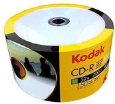 Kodak CD-R 700MB voll bedruckbar 52x 50pcs in Folie (Shrink)