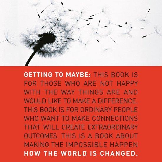 Boek cover Getting to Maybe van Frances Westley (Onbekend)