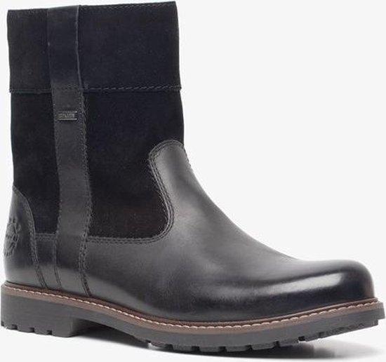 Hush Puppies leren heren boots Zwart Maat 43