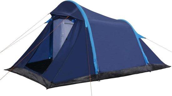 Tent met opblaasbare tentbogen 320x170x150/110 cm blauw