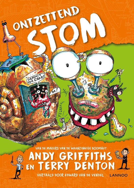 Ontzettend stom - Andy Griffiths |
