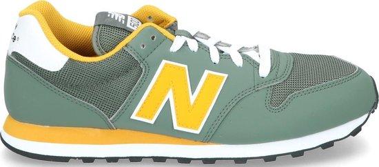 New Balance Sneakers - Maat 41.5 - Mannen - donker groen/ geel/ wit